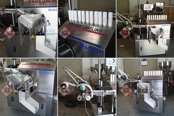 Tube Labelling Machine, Automatic Tube Labeler Machine