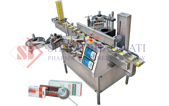 Security Seal Labeling Machine, Front & Back Labeller Machine