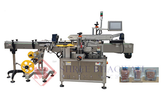 Bottom and Front & Back Sides Labeling Machine – Three Head Bottom and Front & Back Labeler