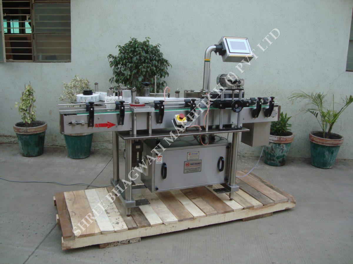 High Speed Sticker Labeling Machine for Vials