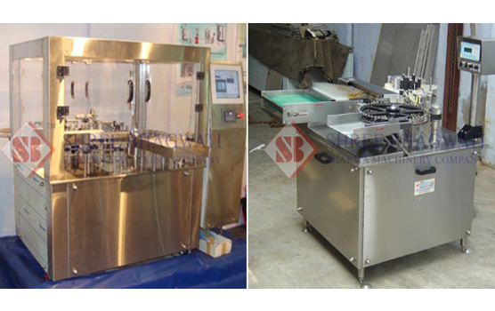 High Speed Rotary Sticker Labelling Machine for Ampoules and Vials