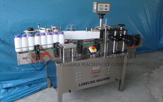 Self Adhesive Bottle Sticker Labelling Machine
