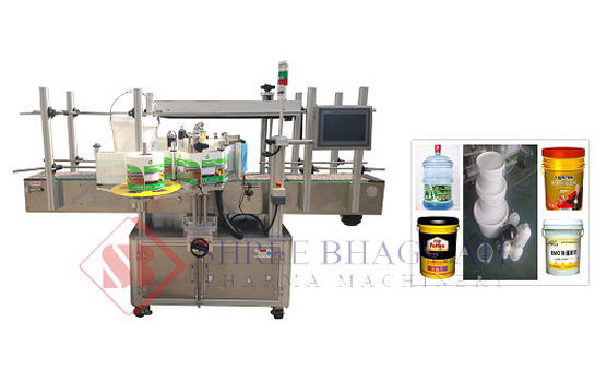 self adhesive sticker one side labeling machine