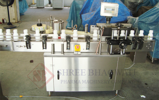 Wrap Round Sticker Labelling Machine