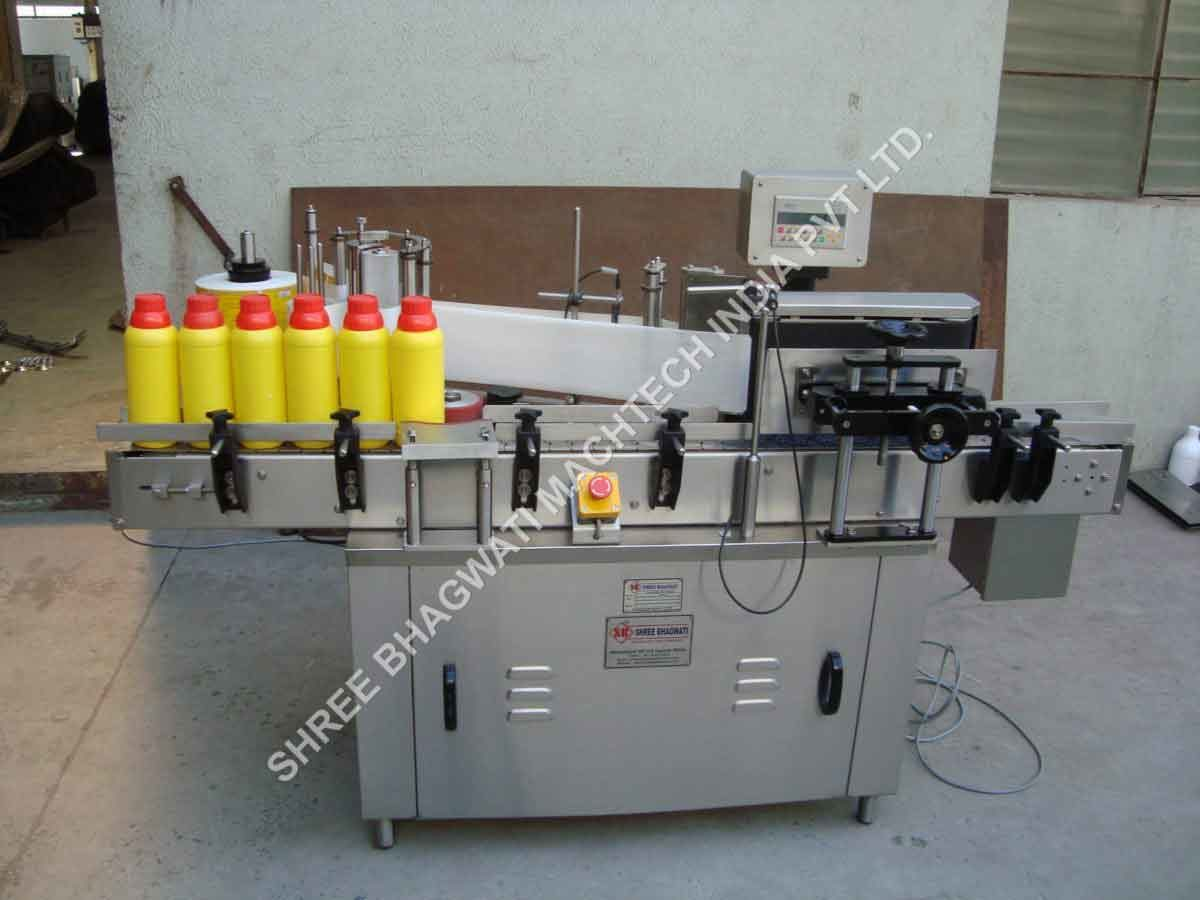 automatic bottle labeler machine