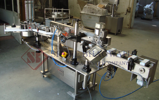Carton L Shape Security Seal Single/ Double side Sticker labelling machine, Tamper Evident labels Labelling Machine