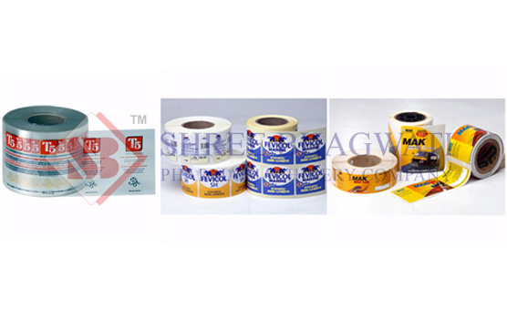 Self Adhesive Labels Rolls