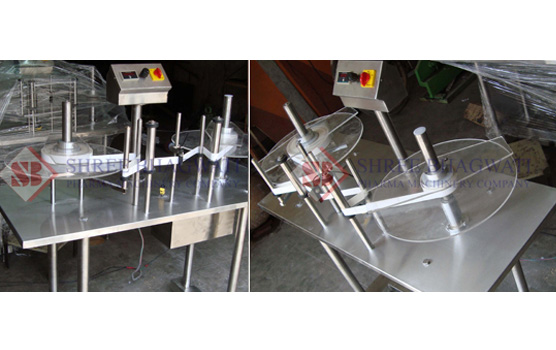 Sticker Label Roll Counting and Winding/Rewinding Machine
