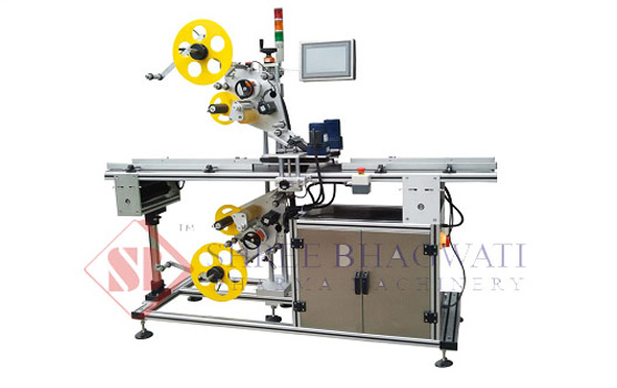 Top & Bottom Sides Bottle Labeling Machine (Two Labels)