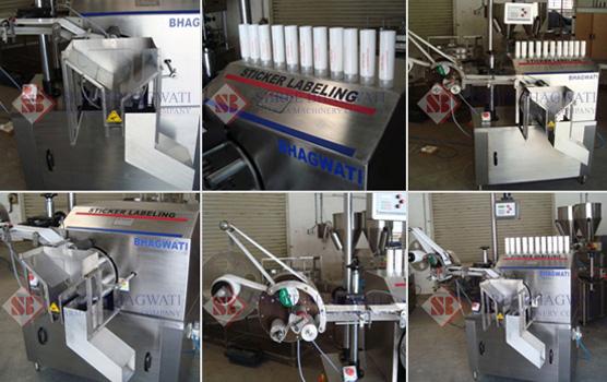 Tube Labelling Machine, Tube Labeler Machine