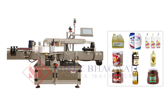 Double Sided Labelling Machine