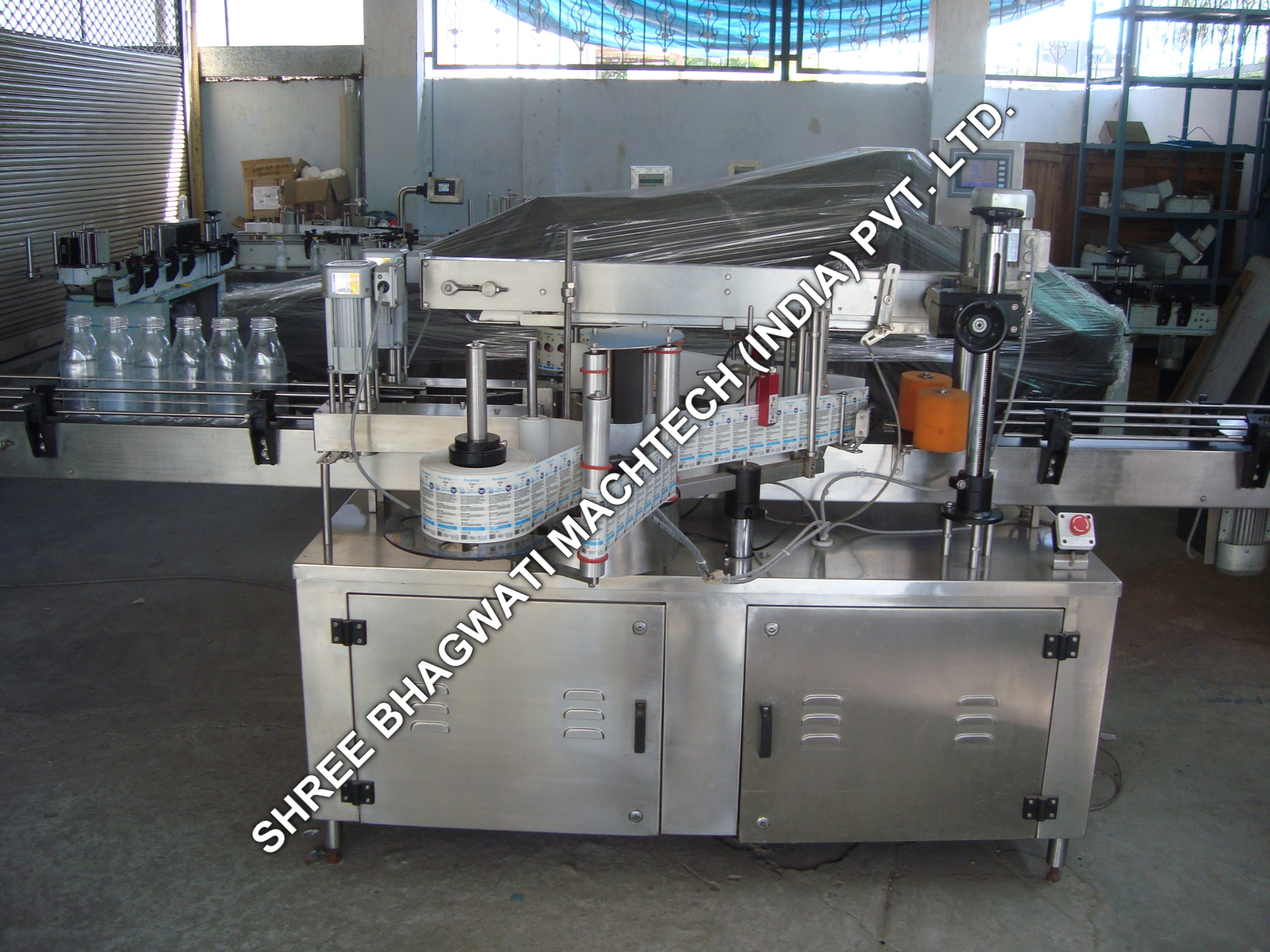 Automatic Double Side (front & back) Sticker Labeling Machines