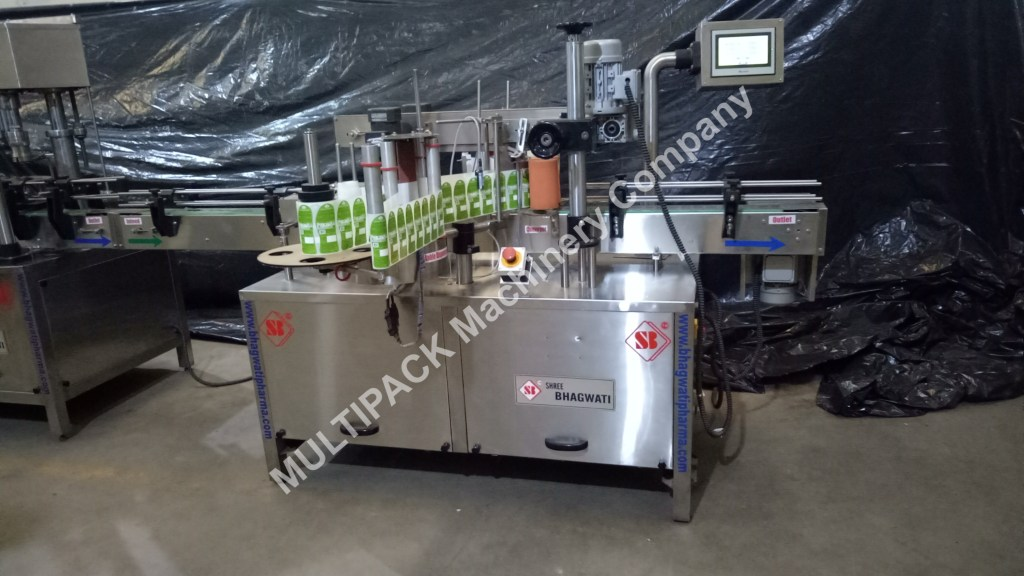 Double Side Labeler Machine