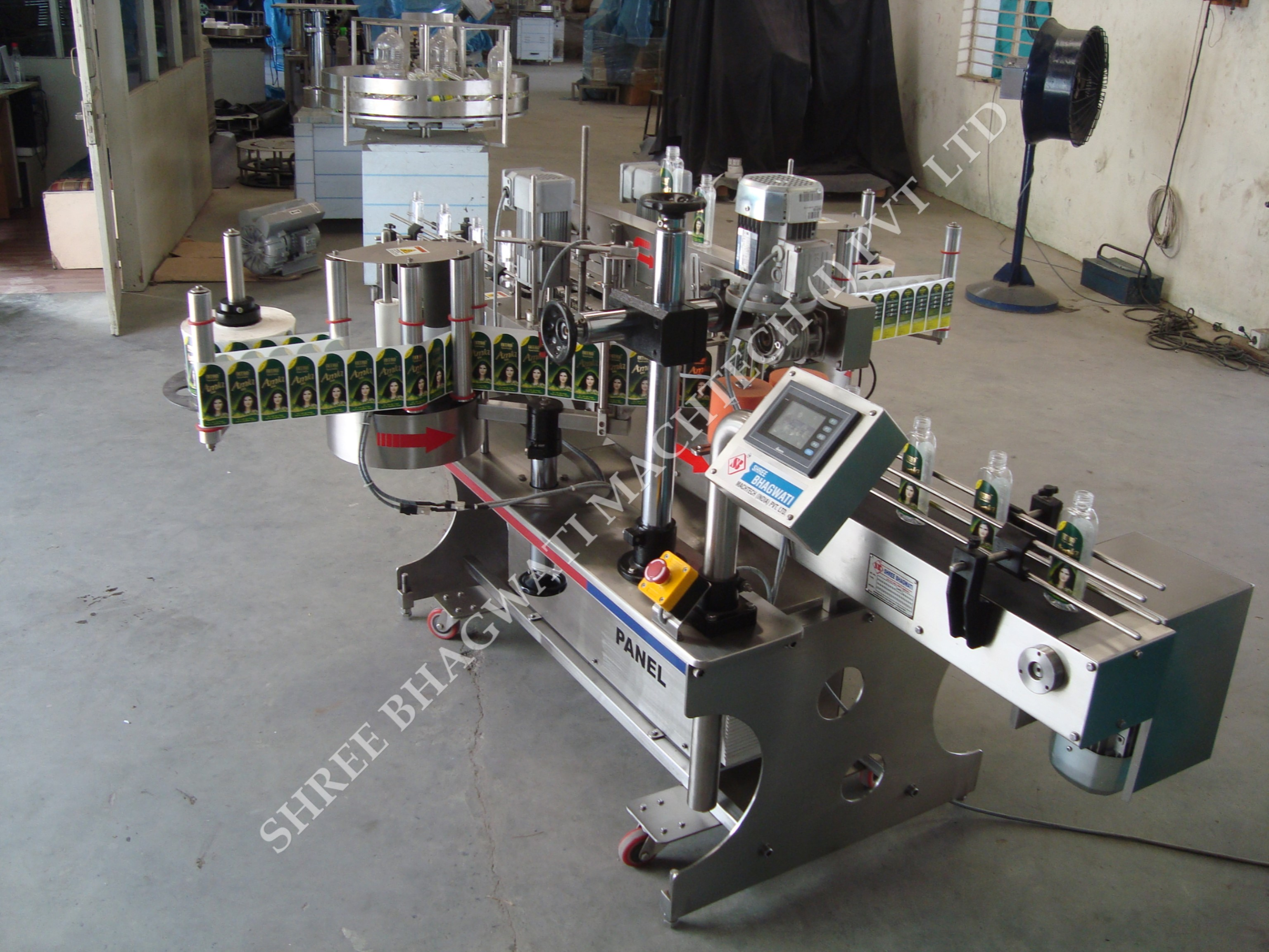 Front & Back Labeling Machine for Different Industries