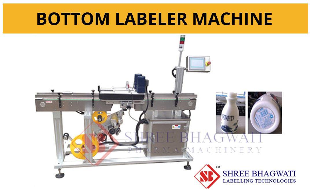 Bottom Labeller Machine for Cosmetics Products