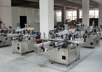 Hand Wash Bottle Labeling Machine