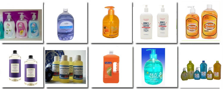 Liquid Soap Hand Washing Shampoo Lotion Manufacturing Plant and Bottle Filling Line