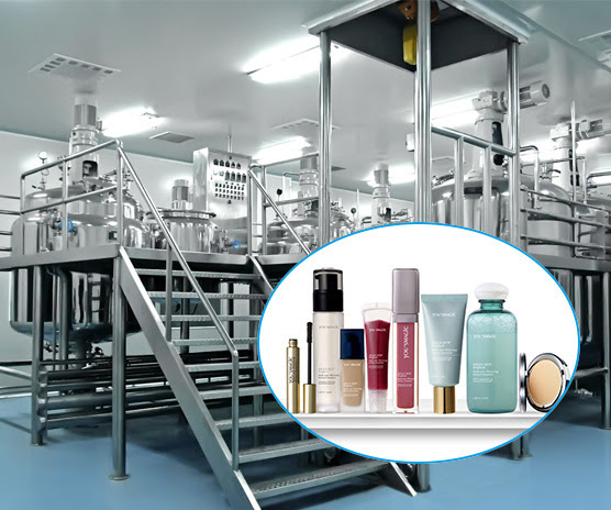 Skin Cleaning Products Manufacturing Plant and Making Machine