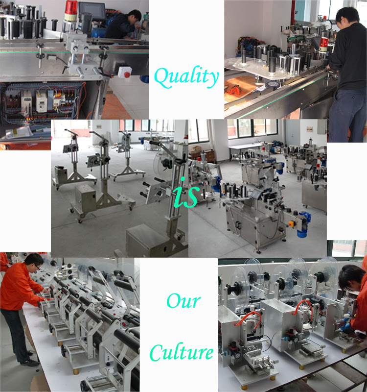 Toilet Cleaner Bottle Labeling Machine