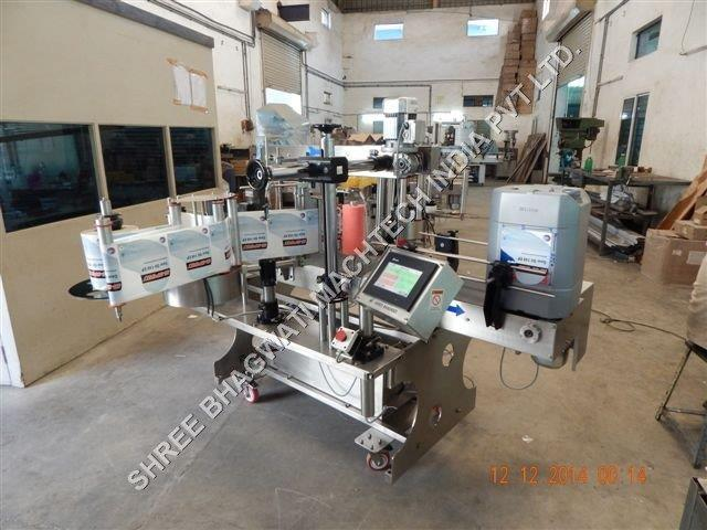 20 ltres bottle labeling machine