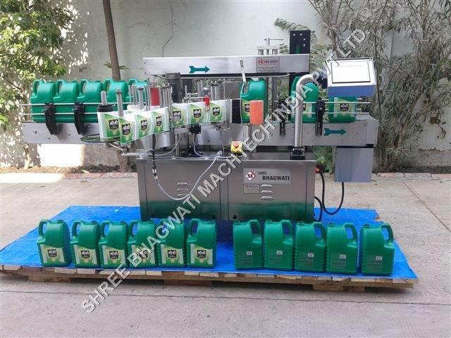 can automatic bottle labeling machine