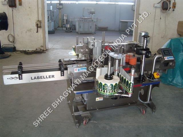 hair oil bottle labeling machine