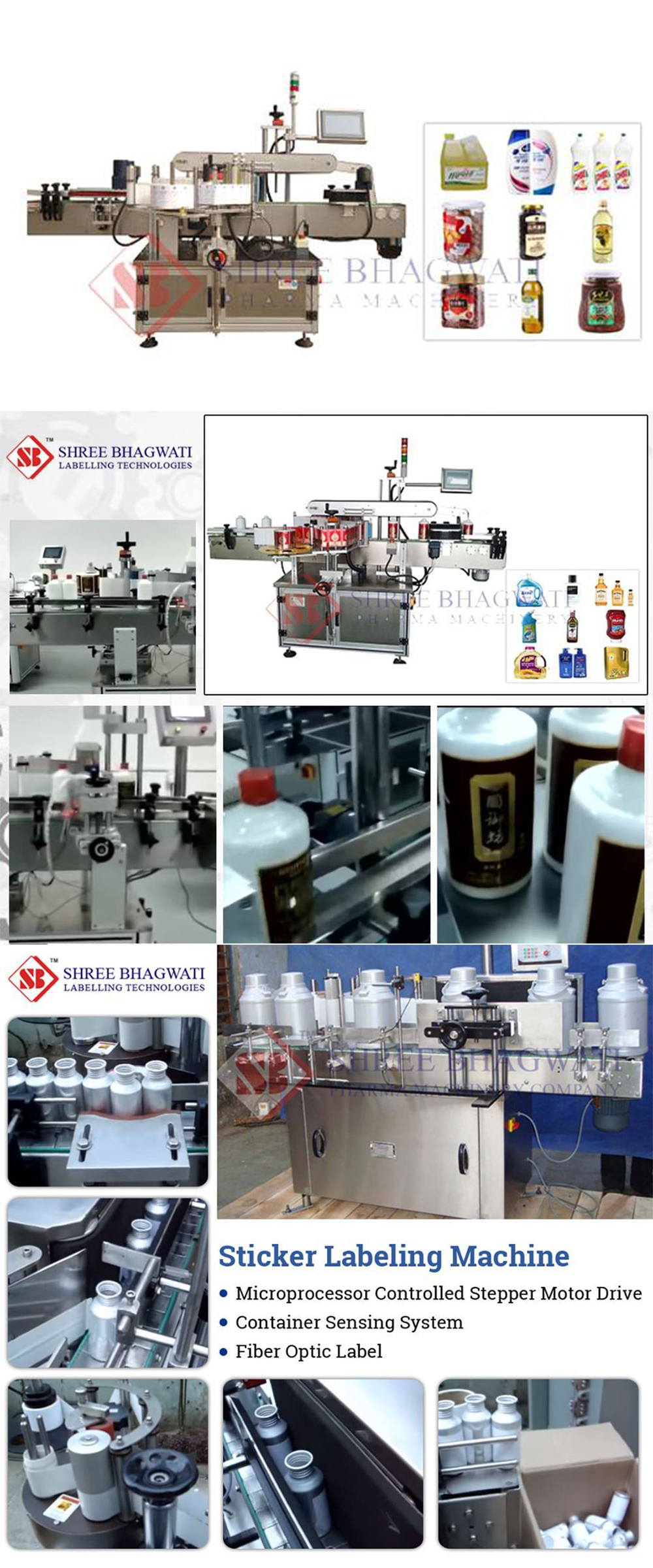 Labeling Machines for Household Products