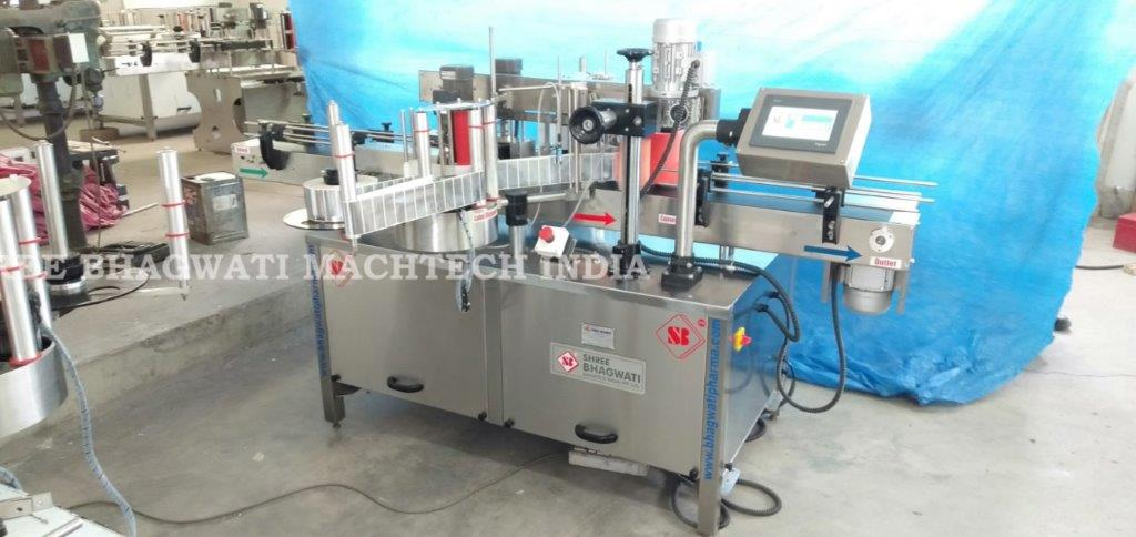 Double Side Labeling Machine Front and Back Labeller Machine